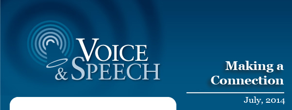 Voice & Speech Newsletter