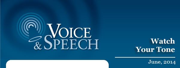 Voice & Speech Newsletter